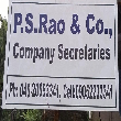 P S Rao & Co  - Online Tax Return Filing Advisor in Golconda