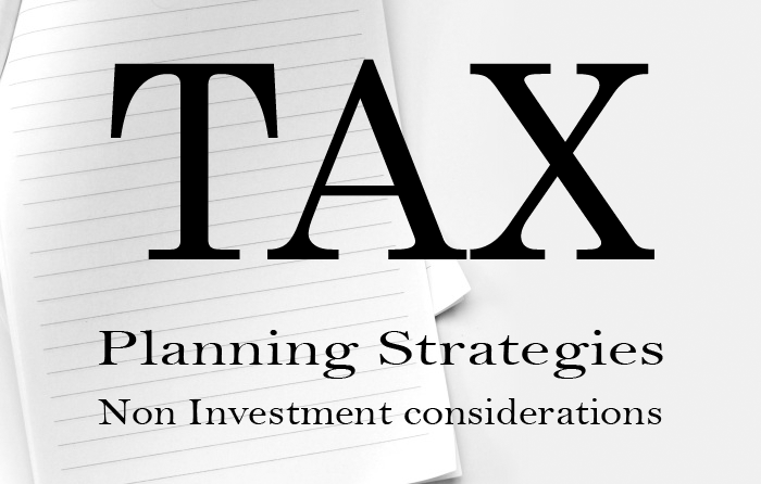 Tax Planning Strategies article in Advisorkhoj - Non Investment considerations in Tax Planning