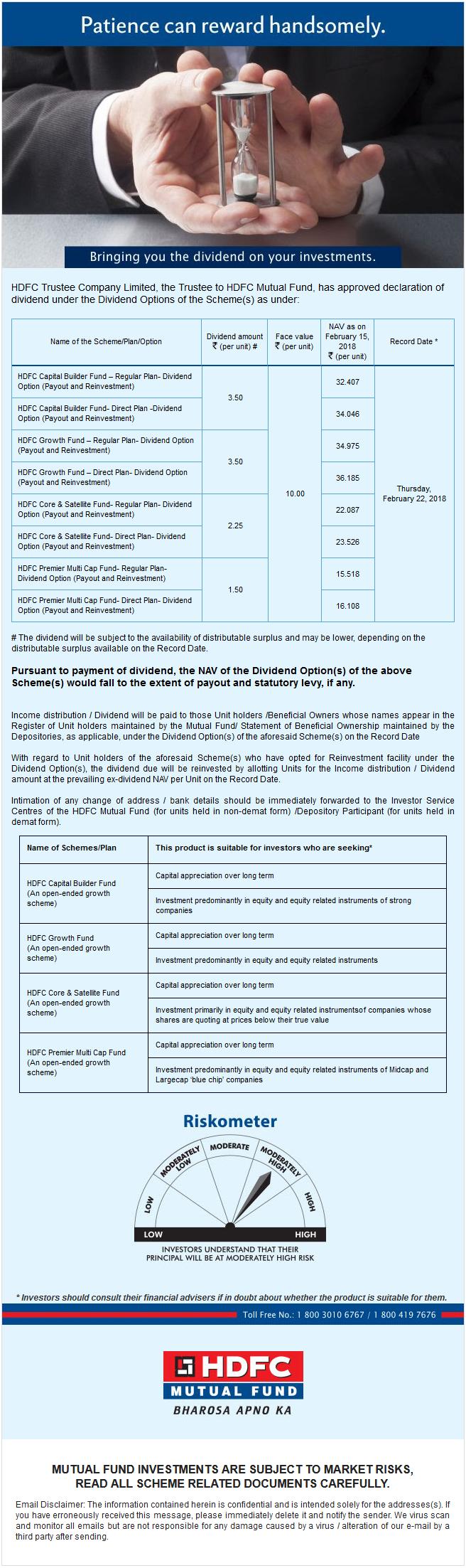 hdfc mutual fund sip return calculator