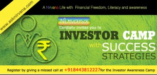 REGISTER YOURSELF FOR A FREE INVESTOR CAMP IN KOLKATA ON 12TH Jan 2014