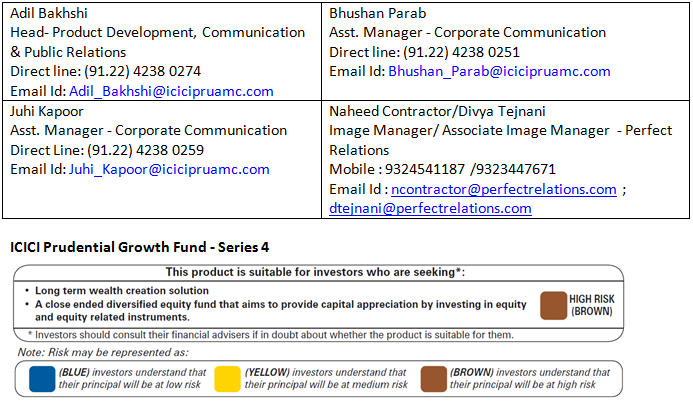 ICICI Prudential Growth Fund Series-4